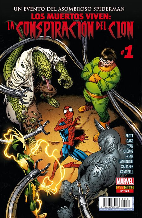 Spiderman / Spiderman Superior / El Asombroso Spiderman. Portadas alternativas #124.1