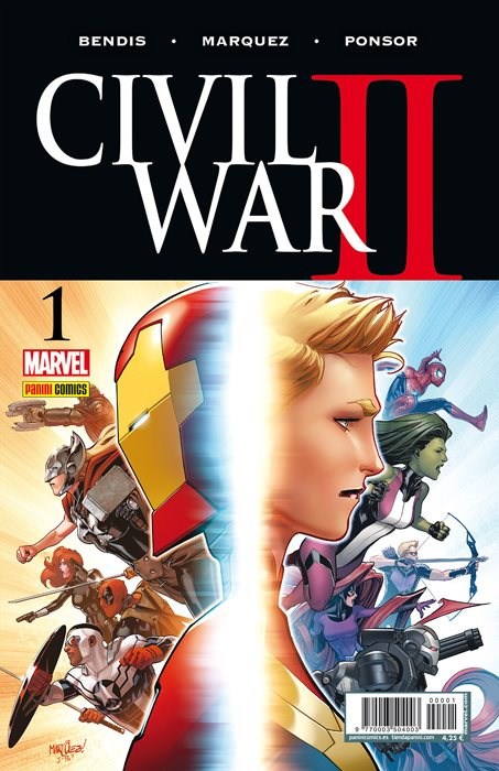 Civil War II. Portadas alternativas #1.4