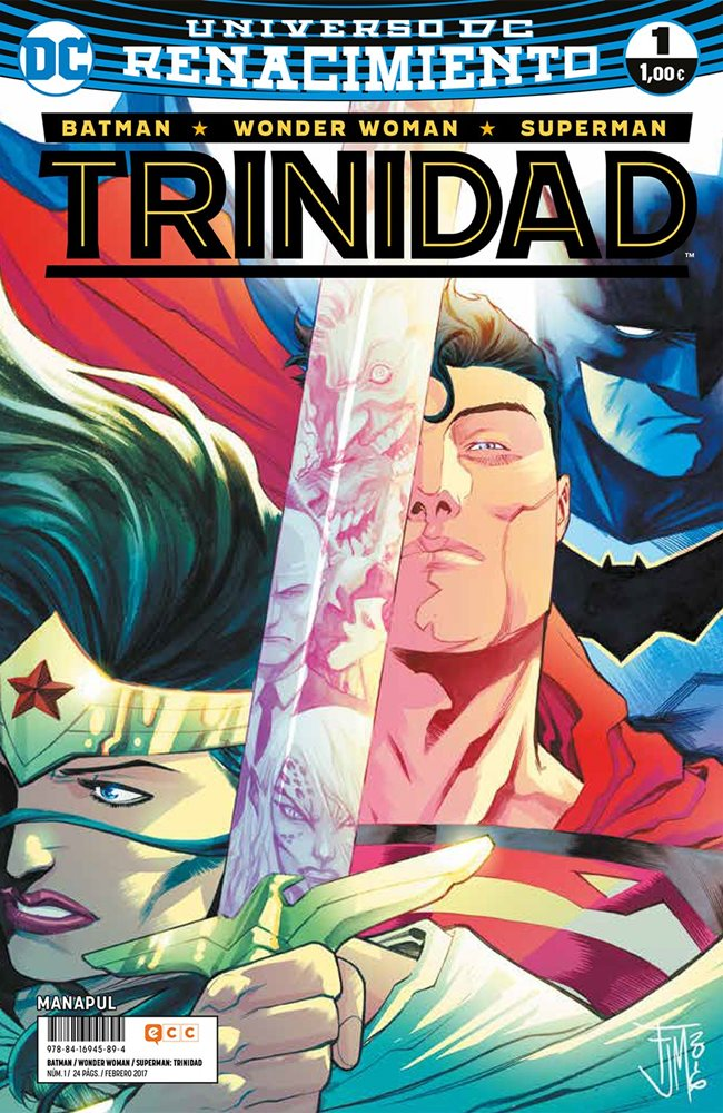 Batman / Superman / Wonder Woman: Trinidad. Renacimiento #1