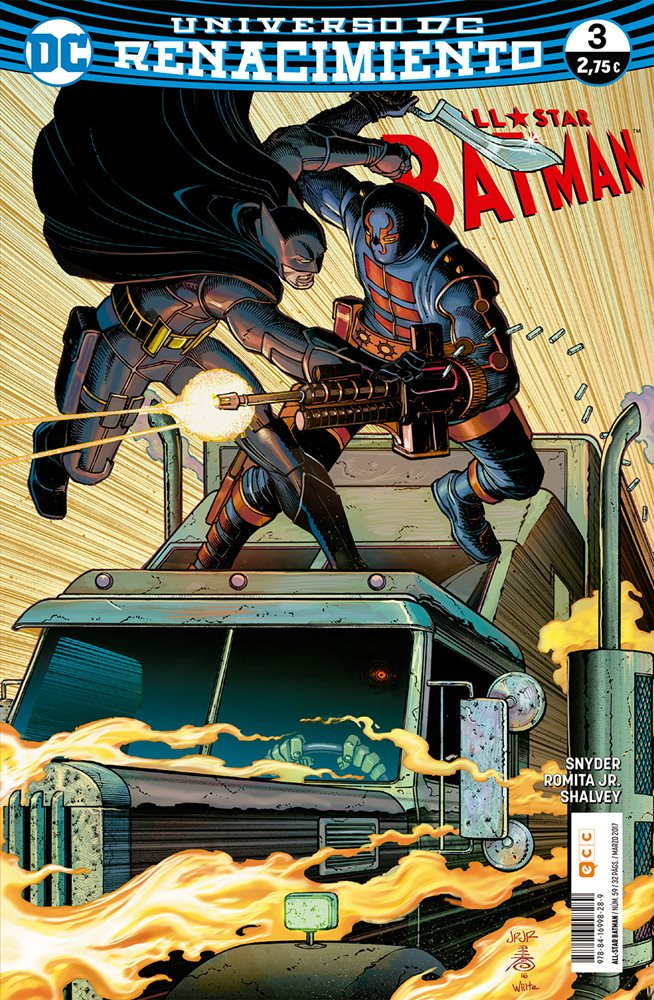 All-Star Batman. Renacimiento #3