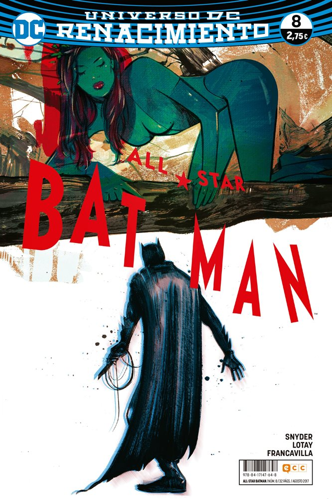All-Star Batman. Renacimiento #8