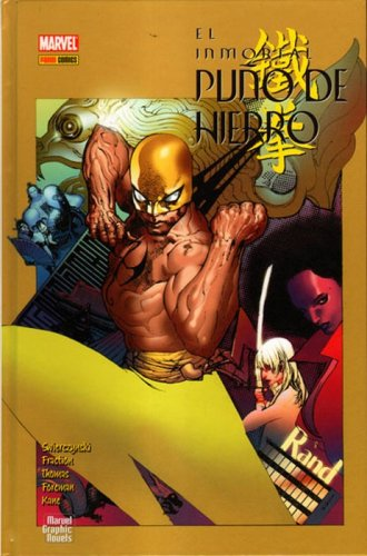 El Inmortal Puño de Hierro. Marvel Graphics Novels #4