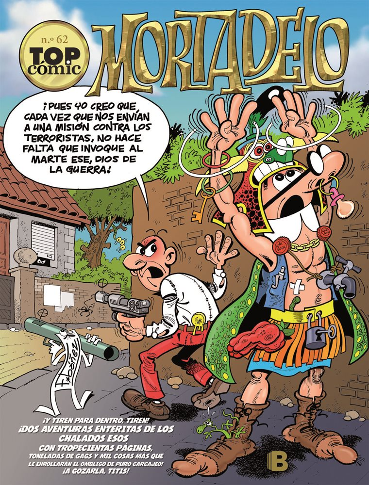 Mortadelo. Top Cómic #62