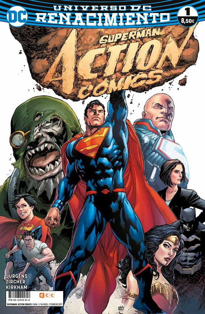 Superman: Action Comics. Renacimiento #1