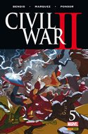 Civil War II (Grapa. Color) #5